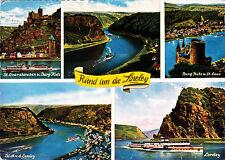 Rund um die Loreley ; Ansichtskarte 1971 gel.