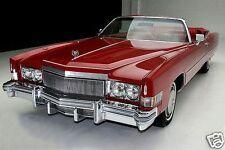 1974 Cadillac Eldorado Convertible, RED, Refrigerator Magnet, 40 Mil