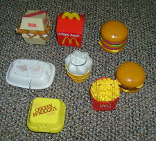 1990 McDonalds Happy Meal Changeable Transformer Food Lot 8 French Fry Drink....