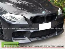 DP Style Carbon Fiber Front Bumper Lip Spoiler For 12-16 BMW F10 M5 Only