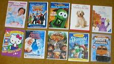 Wholesale Lot of 10 Kid's DVDs ~ VeggieTales, Disney, baby einstein, etc...