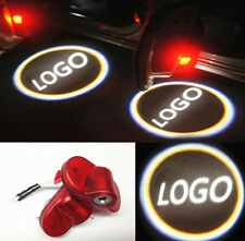 For S-MAX Mondeo Laser LED Door Welcome Projector Light Lamp 2PCS Red