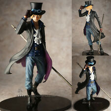 Collections Anime Figure Toy One Piece New World Sabo Figurine Statues 24cm