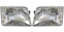 1993 1994 1995 1996 1997 FORD RANGER HEAD LIGHT LAMP LEFT & RIGHT PAIR SET 2PCS