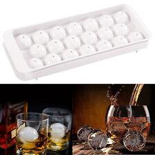 20 Cube Kugelform Eiswürfelform Whiskey Eiskugel Form Silikon Iceball Maker