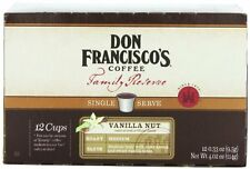 Don Francisco Family Reserve Single Serve Coffee Vanilla Nut 12 Count (Packag...