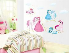 Princess horse home Decor Removable Wall Sticker/Decal/Decoration