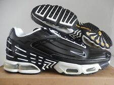 NIKE AIR MAX PLUS III 3 BLACK-BLACK-WHITE SZ 13 SUPER RARE!! [604201-002]