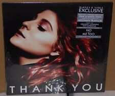 Meghan Trainor Thank You 2 LP record pink & white colored vinyl 2016 2 Discs