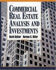 Commercial Real Estate Analysis And Investments by David M Geltner