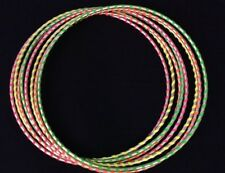 Color Neon Green GLOWS UNDER BLACK LIGHT, HULA HOOP Dance Manipulation Exercise