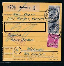 88634) a partire dal pacchetto scheda MIF 200pf AB Aquisgrana 4 10.6.48