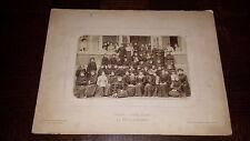 PHOTOGRAPHIE : Collège de jeunes filles - La Fère 1904-1905 - Aisne Picardie