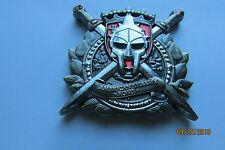 RARE! USMC Marine Security Guard Detachment US Embassy Rome Challenge Coin