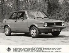 VOLKSWAGEN GOLF GLi CONVERTIBLE PERIOD PHOTOGRAPH.