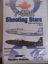 1/32 SuperScale T-33A SHOOTING STARS USAF & CANADIAN T-BIRDS Decals OOP