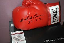 "HASIM ""THE ROCK"" RAHMAN SIGNED EVERLAST BOXING GLOVE LEFT JSA CERT LEWIS KO"