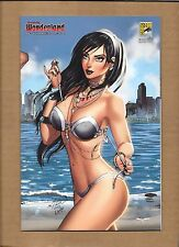 GFT WONDERLAND AGE OF DARKNESS #1 SDCC EXCLUSIVE   VARIANT COVER DAWN MCTEIGUE