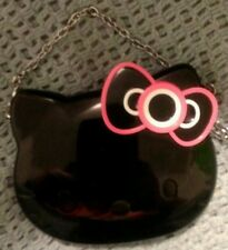 MAC Hello Kitty Compact Mirror with chain, New without Box, purse, two sided