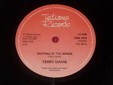 "Terry Davis:  Waiting in the wings    7""  New ex shop stock"