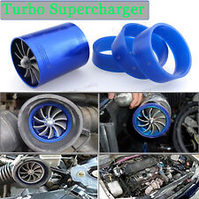 Universal Gas Fuel Turbo Saver Fan Supercharger Air Intake Turbonato For Hyundai