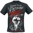 BULLET FOR MY VALENTINE - RIOT - OFFICIAL MENS T SHIRT