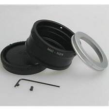 M42 Lens to Sony E NEX 3 NEX 5 NEX 6 NEX 7 VG10 5N 5C Adapter Adjustable+CAP new