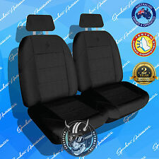 *NEW!* ELITE FRONT CAR SEAT COVER, HIGH QUALITY BLACK JACQUARD, AIRBAG SAFE