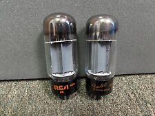CURVE TRACER MATCHED PAIR OF SYLVANIA 6L6GC STR TYPE VACUUM TUBES