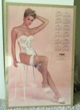 RARE 1989 SEXY CALENDAR POSTER SHRINK WRAPPED GREAT GIFT IDEA MAN CAVE X-MAS