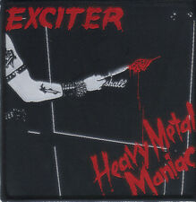 EXCITER-HEAVY METAL MANIAC- WOVEN PATCH-super rare