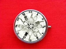 PIN UP GIRL CLOCK MODEL ROUND METAL PILL MINT BOX CASE
