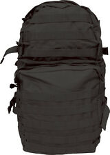 ELITE ASSAULT Patrol Pack 40 Litre ARMY BLACK New RUCKSACK MEDIUM MOLLE MILITARY