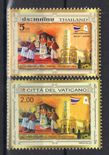 Vatican 2014 joint issue w/ Thailand Sinod of Ayutthaya 350 Anniversary MNH Set