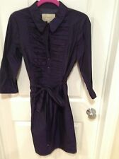 Authentic Burberry London Purple dress size 10