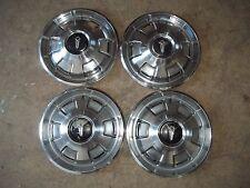 "67 68 69 Plymouth Barracuda Valiant Hubcap Rim Wheel Cover Hub Cap 14"" OEM 320 4"
