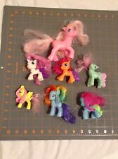 "Lot Of 7 My Little Ponies - (6) 3"" Ponies & (1) 5"" Pony"