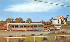 Winchester VA Duff's No. 2 Diner Clock Old Cars Postcard
