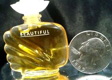 Estee Lauder Beautiful Pure Perfume 0.12 oz 3.7 ml Vintage Mini Fresh Full NOSNB