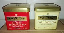 N2 Scatole di Latta The Twinings Original the Tea English Collection Vintage