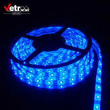 5M/16ft BLUE 3528 SMD IP65 300 LED Strip Light String Ribbon Tape Roll Boat RV