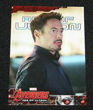 2015 Upper Deck Marvel Avengers Age of Ultron BLUE Parallel #35 Serial #d of 199