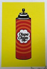 "Death NYC - Candy Spray ""Rare Limited Edition Signed Graffiti Print"""