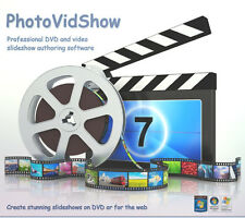 Movie maker software. Create a slideshow for DVD or the web from photos & video