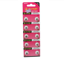 Lot of 10pcs AG4 377A 377 LR626 SR626SW SR66 LR66 376 Alkaline Watch Battery