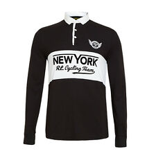 Polo Ralph Lauren Black New York City Cycling Team Polo XXL BRAND NEW