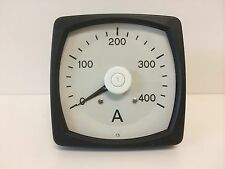 NEW OLD STOCK ALSTOM 0-400 AMP PANEL MOUNT AMMETER METER VSELC