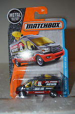 2016 Matchbox MBX Adventure City #2/125 - '14 Ford Transit News Van