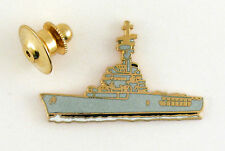 PINS MILITAIRE BATEAU BOAT PORTE-HELICOPTERES JEANNE D'ARC EMAIL GRAND FEU
