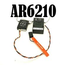 AR6210 RC Receiver Support JR and Spektrum DSMX and DSM2 6 channel 2.4ghz
